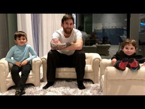 Как живет сын Месси 2018 - Жизнь без футбола