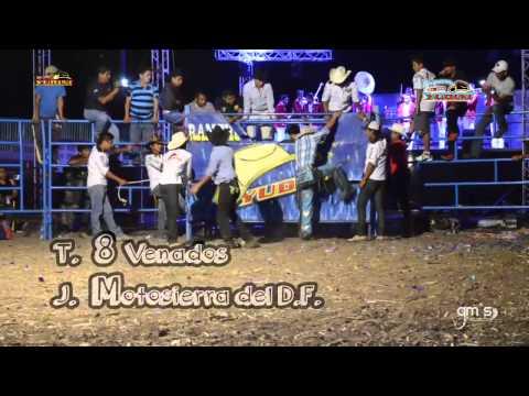 JARIPEO EN TEZOATLÁN 2014- BANDIDO DE MANCUERNAS vs MOTOSIERRA