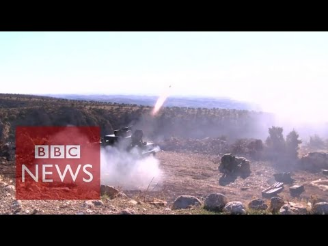 Sinjar offensive: On the front line with Kurdish forces - BBC News