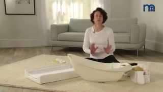 ▶ How To Bath Your Newborn Baby | Mothercare Bathtime Advice