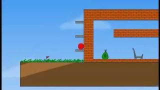 Red Ball Walkthrough Video (All levels 1-17)