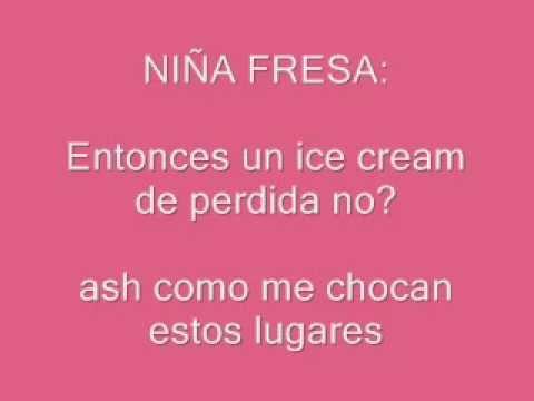 La Nina Fresa(Lyrics)