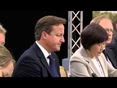 G8 Summit: UK and Japan bilateral meeting