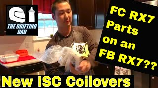 ISC Suspension FC RX7 Coilovers on an FB RX7 Drift Car, 2019 Build Update 2