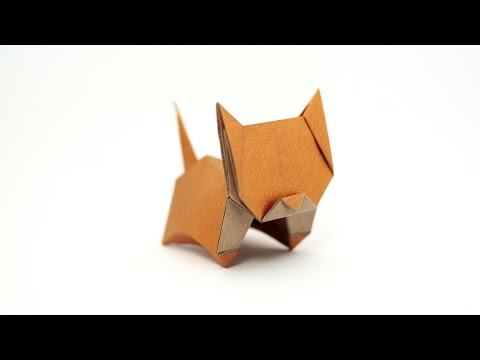 Origami Neko (cat) (Jo Nakashima) - remake