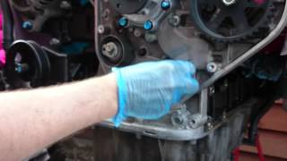 Kia Sedona Carnival / Hyundai 2.9CRDi timing belt part 5