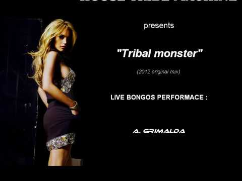 Tribal(funky)house-tribal Monsterlive Bongo Percussion House Tribe Machine video