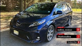 2018 Toyota Sienna SE – More Swagger Under The Hood