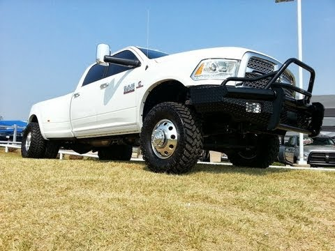 All Tricked Out Lifted 2013 Dodge Ram Laramie 3500 Loaded