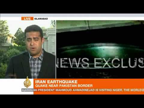 Deadly earthquake jolts Iran