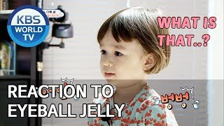 William and Bentley's reaction to eyeball jelly [The Return of Superman/2019.08.14]