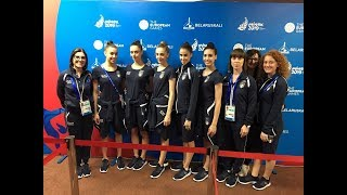 Minsk 2019 - Ritmica: Prova podio al miele!