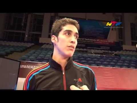Gold | Khodabakhshi Mehdi (iri)   2014 Wtf World Taekwondo Grand Prix Series 2 video