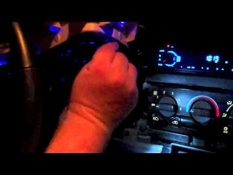 How to change the color in your dash for a 99-03 silverado PART2