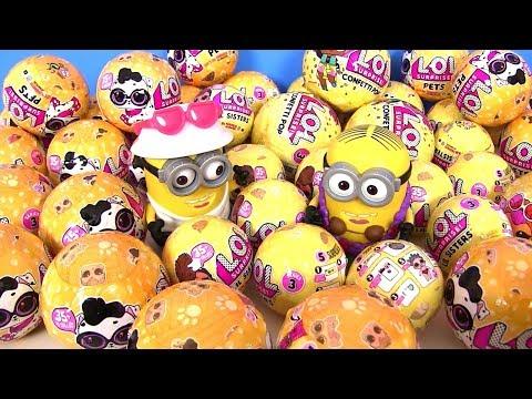 #Питомцы ЛОЛ 2 Волна 3 Серия. Сюрприз Шарики ЛОЛ! Видео для детей! Миньоны LOL