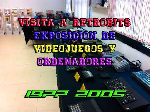 VISITA A RETROBITS EXPO TARIFA | EXPOSICION DE VIDEOJUEGOS Y ORDENADORES