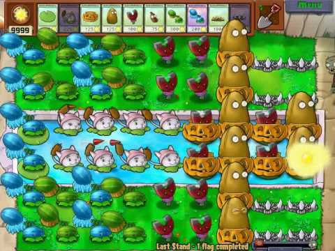 Plants vs. Zombies: Ultimate Lawn Defence Using Infinite Sun Cheat (HD)