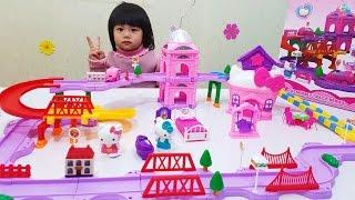 Hello Kitty Seasons Toy For Kids, Đồ Chơi Trẻ Em Khu Vui Chơi Của Mèo Hello Kitty, BaBiBum