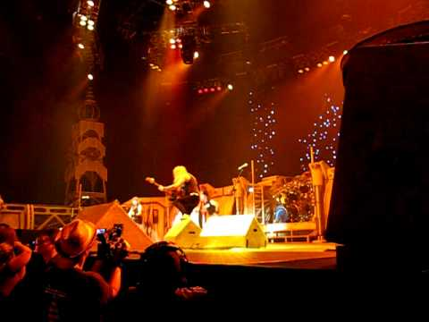 The Wicker Man - Iron Maiden, Dallas, TX 6/9/10 Video