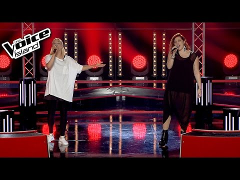 Lilja Björk vs. Karen Ósk - Lost | The Voice Iceland 2015 | Battle