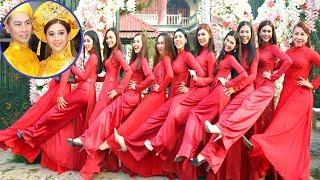 Nhan sắc dàn Phù dâu chuyển giới trong đám cưới Lâm Khánh Chi g,â,y s,,ố,,t MXH