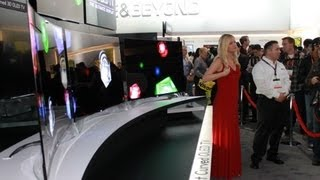 CES 2013_ LG 55-inch 3D Curved OLED HDTV