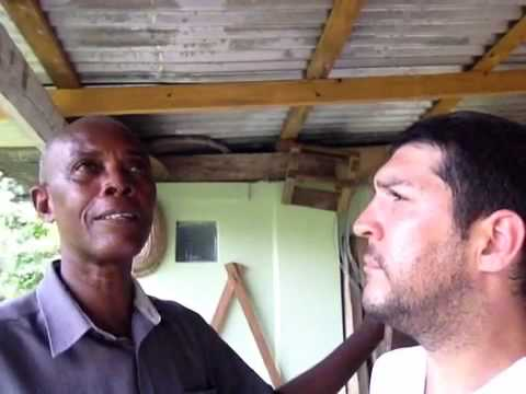 Health Farm, Windsor, Jamaica - Solar dehydrator #5 (part 4)