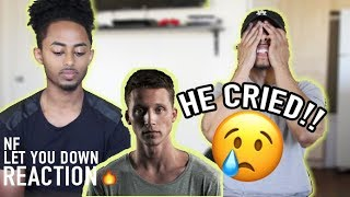 Download Lagu NF - Let you down ( First time reacting to NF's top hit) Gratis STAFABAND