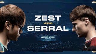 Zest vs Serral PvZ - Group B Winners - 2018 WCS Global Finals - StarCraft II