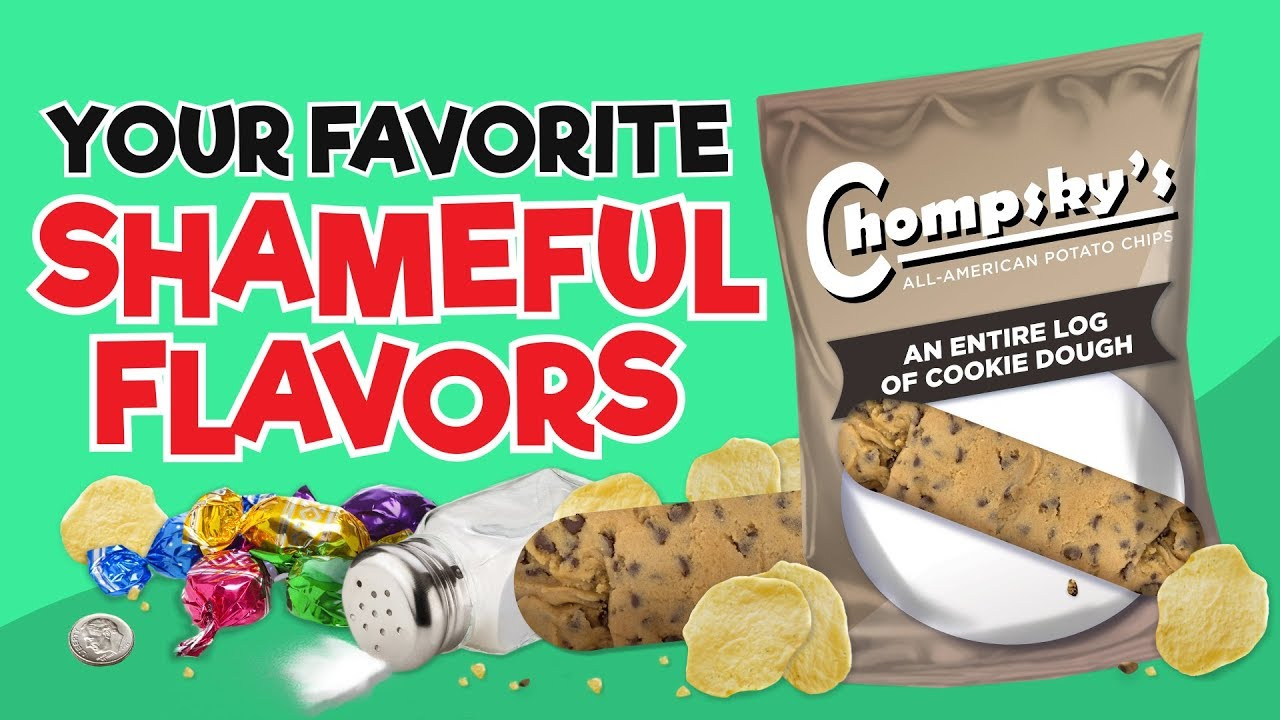 Your Favorite Shameful Flavors As Chips!
