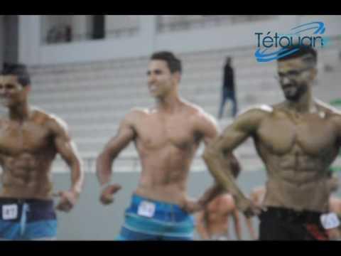 لقطات من اقصائيات بطولة المغرب في رياضة بناء الجسم والفينتيس
