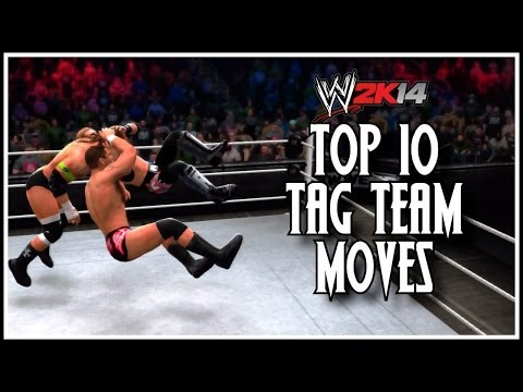Wwe 2k14 - Top 10 Tag Team Moves! (wwe 2k14 Countdown) video