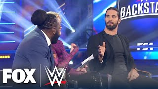 Seth Rollins on CM Punk, being hated, social media's 'double-edge' | WWE BACKSTAGE | WWE ON FOX