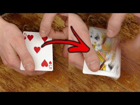 Visual FLICK CHANGE - Card Trick Tutorial