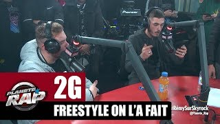 "2G - Freestyle ""On l'a fait"" #PlanèteRap"