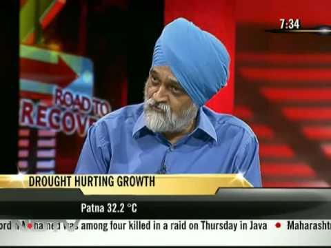 Montek Singh Ahluwalia on economic recovery