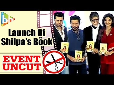 Amitabh Bachchan At The Launch Of Shilpa Shetty's Book 'The Great Indian Diet' | Event Uncut