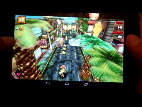 Super Monkey Run 3D muy entretenido y divertido juego para android 2013