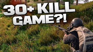 30+ KILL GAME?! - BATTLEGROUNDS (PUBG)