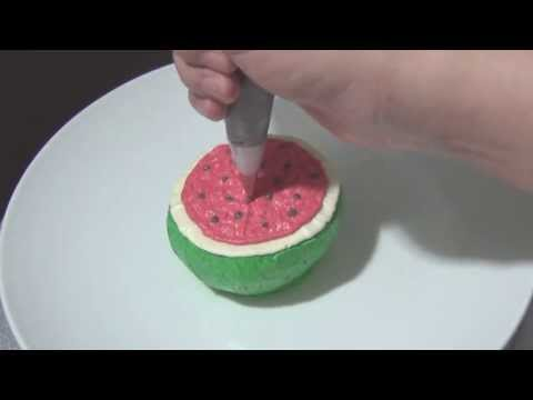 3d Cake Decorating Download : Cake Decorating: 3D Watermelon Buttercream Cake Tutorial ...