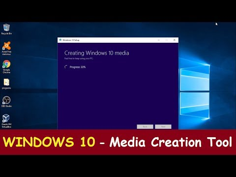 How To Download Windows 10 from Microsoft.com | Media Creation Tool tutorial