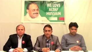 Live:Video Briefing of Co-ordination Committee of MQM from London-11 December 2017(Recorded)