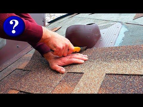 Битумная крыша своими руками