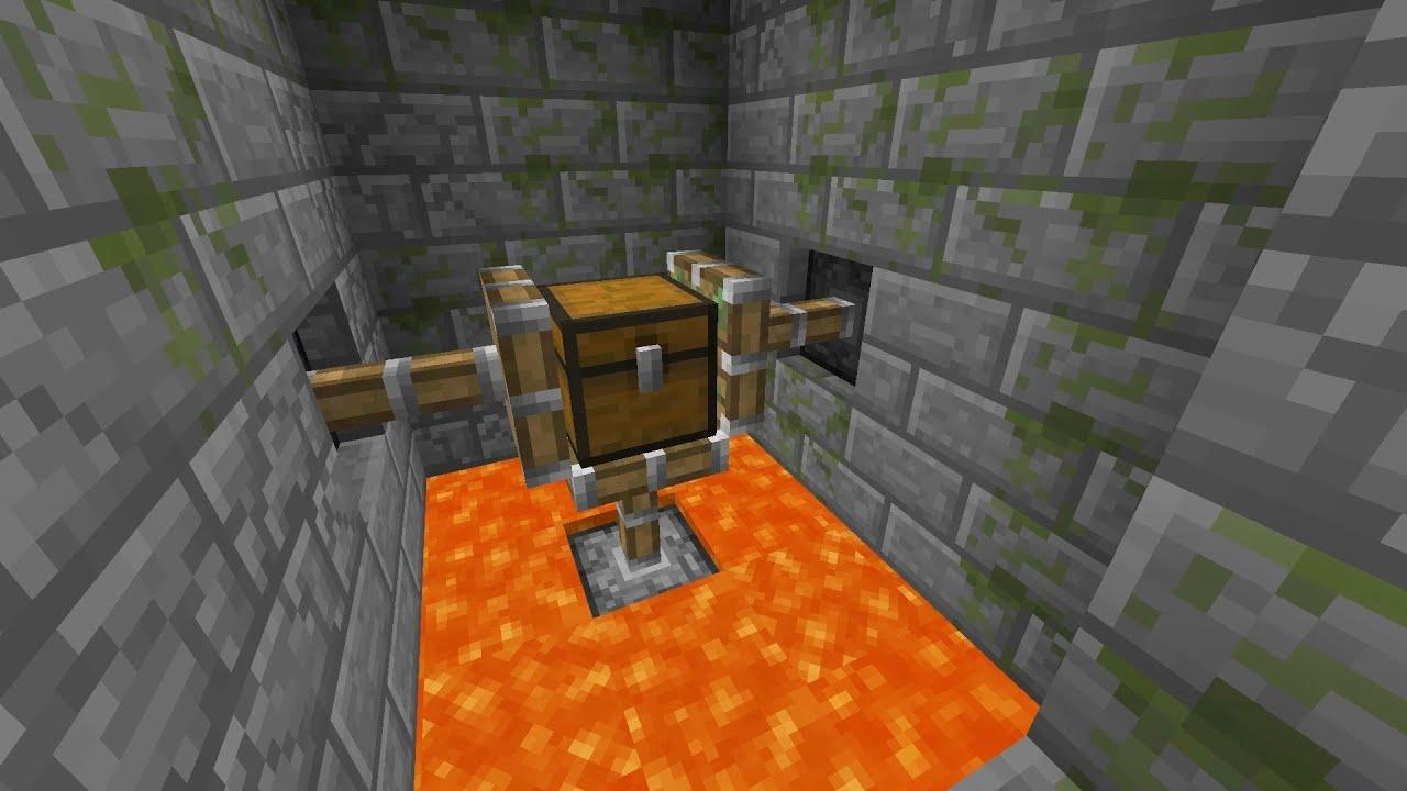 Как в minecraft сделать алмазный сундук