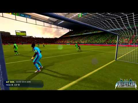 FIFA World Cup Brazil 2014 ( PS3 )    Nigeria - España: El tercer partido    Gameplay