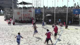 Giorno #6 - EURO 2013 Beach Handball: Italia - Turchia 0-2