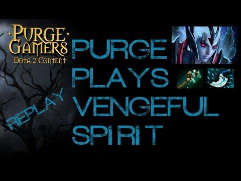 Dota 2 Purge plays Vengeful Spirit support