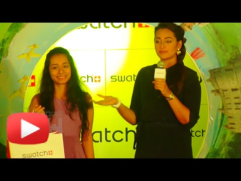 Sonakshi Sinha Unveils Swatch Watches | Press Conference
