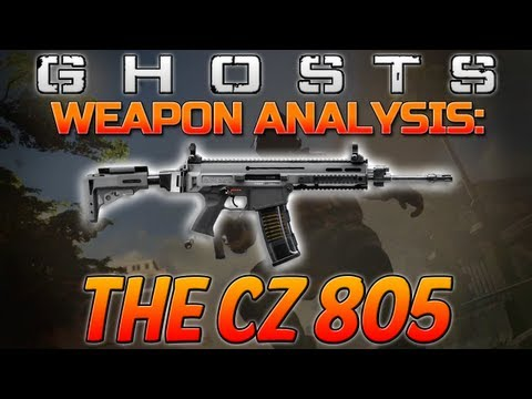 Call of Duty: Ghosts - Weapon Guide/Analysis - The CZ 805! (Ghosts Trailer Guns)