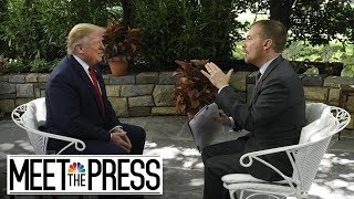 Download Song President Trump's Full, Unedited Interview With Meet The Press  | NBC News Free StafaMp3